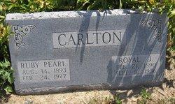 Ruby Pearl <i>Roberts</i> Carlton