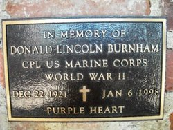 Corp Donald Lincoln Burnham