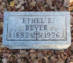 Ethel E Bever