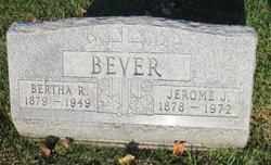 Bertha R. <i>Krumlauf</i> Bever