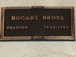 Frances Pat <i>Bogart</i> Brose