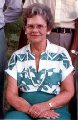 Alma M <i>Klosterman</i> Meyer