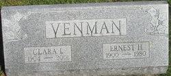 Clara L. <i>Lindell</i> Venman