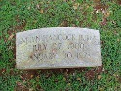 Evelyn <i>Hancock</i> Burns