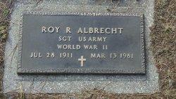 Roy R. R J Albrecht