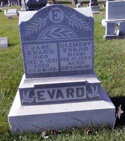 Eliza Jane Jane <i>Sappington</i> Evard