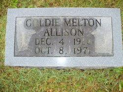 Goldie Virginia <i>Melton</i> Allison-Logan