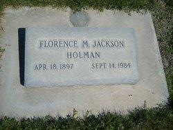 Florence Maria <i>Jackson</i> Holman
