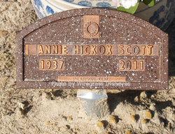 Annie Mae <i>Hickox</i> Scott