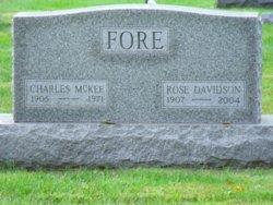 Charles McKee Fore