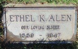 Ethel K Alen