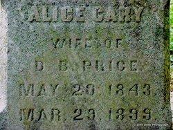 Alice <i>Cary</i> Price
