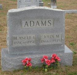 Blanche I Adams
