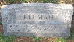 Nyoda Gwendolyn <i>Miller</i> Freeman
