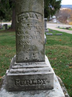 Mary P <i>Whitney</i> Gurley