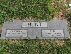 Elisha Bell E. B. Hunt, III
