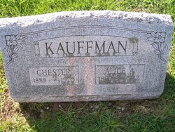 Alice Agnes <i>Messinger</i> Kauffman