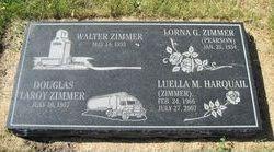 Luella M <i>Zimmer</i> Harquail