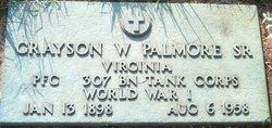 Grayson Wray Palmore, Sr