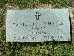 Daniel John Master Chief Hayes