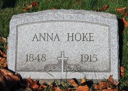 Anna Mary <i>Rittenauer</i> Hoke