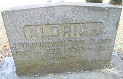 Maudena F Dena <i>Claver</i> Aldrich