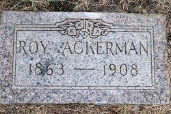 Calvin Leroy Roy Ackerman