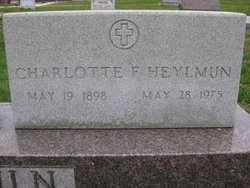 Charlotte F Heylmun