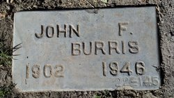 John F Burris, Sr