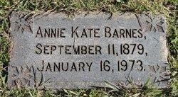 Annie Kate Barnes