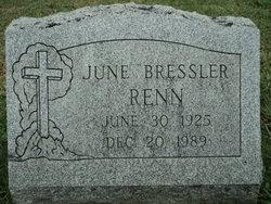 June <i>Bressler</i> Renn