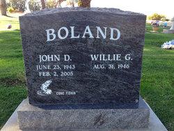 John D Boland