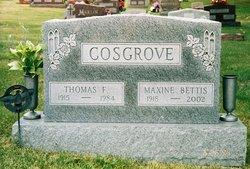 Thomas Francis Tom Cosgrove