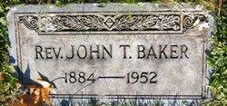 Rev John Theodore Baker
