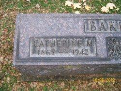 Catherine M. <i>Newcomb</i> Baker