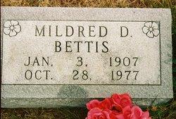 Mildred D <i>Gragg</i> Bettis