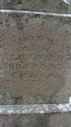 Lizzie M Hoadley