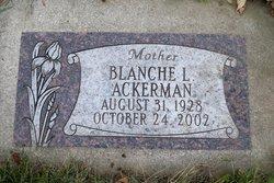 Blanche Louise <i>Warner</i> Ackerman