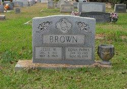 Edna <i>Parks</i> Brown