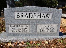 Martin Horace Bradshaw, Jr