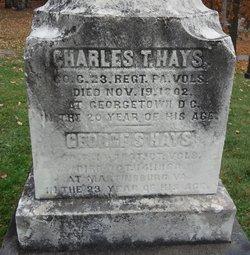 Charles T Hays
