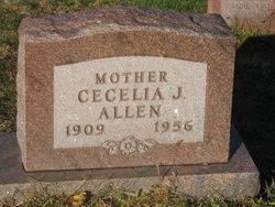 Cecelia J Allen