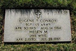 Sgt Eugene T Conroy