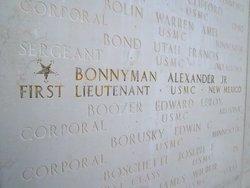 1LT Alexander Sandy Bonnyman, Jr