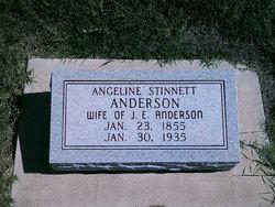 Angeline <i>Stinnett</i> Anderson