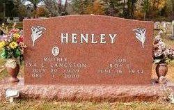 Roy Lee Francis Henley, Jr