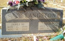 Allie <i>Rice</i> Langston