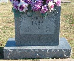 Jessie Myrtle <i>Carpenter</i> Earp