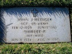 John J Hediger