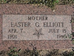 Easter Nora <i>Goode</i> Elliott